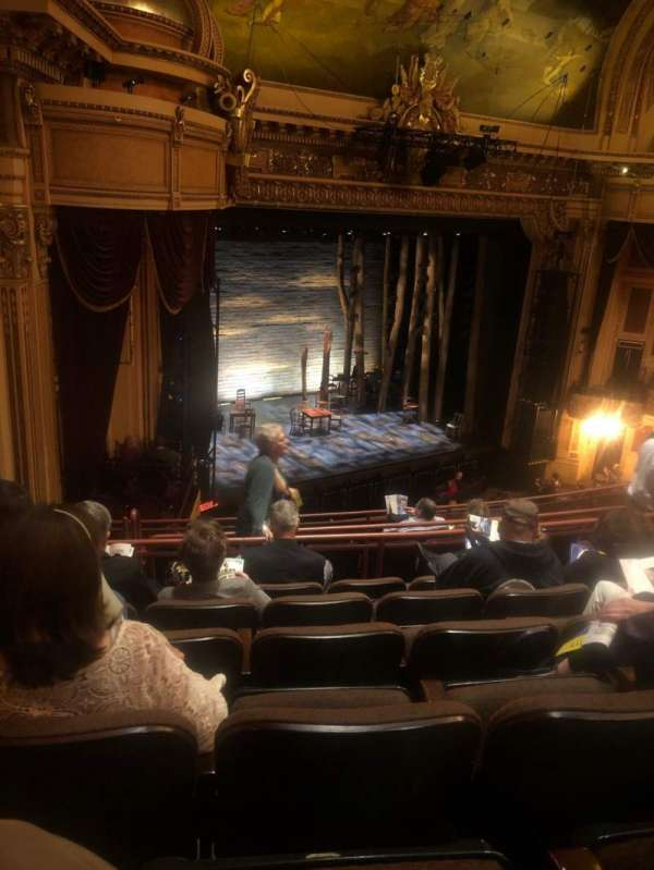 Hippodrome Theatre, vak: Left Middle Balcony, rij: J, stoel: 231