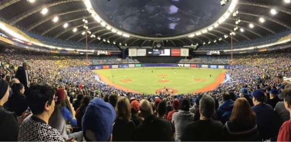 Olympic Stadium, Montreal, vak: 406, rij: A, stoel: 5