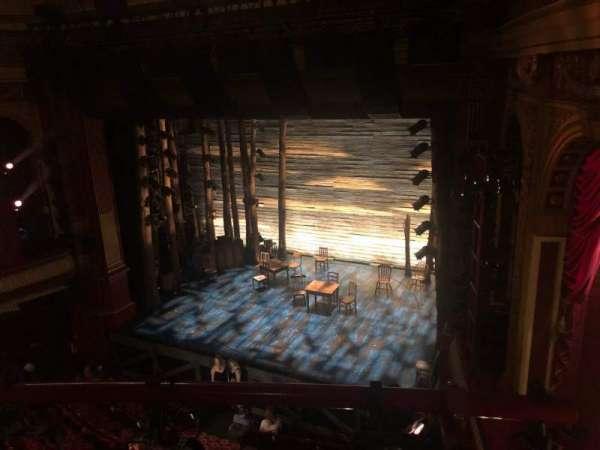Phoenix Theatre, vak: Grand Circle, rij: A, stoel: 3