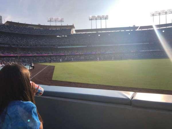 Dodger Stadium, vak: 50FD, rij: A, stoel: 4