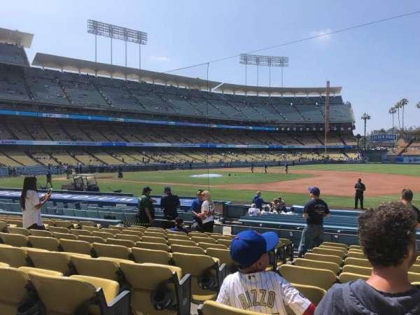 Dodger Stadium, vak: 28FD, rij: K, stoel: 2