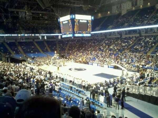 Bryce Jordan Center, vak: 118, rij: M, stoel: 108