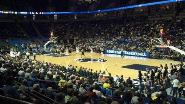Bryce Jordan Center, vak: 102, rij: D, stoel: 107