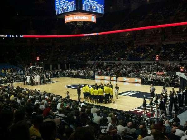 Bryce Jordan Center, vak: 103, rij: E, stoel: 2