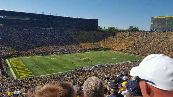 Michigan Stadium, vak: 5, rij: 86, stoel: 3