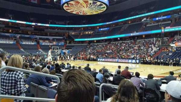 Capital One Arena, vak: 113, rij: E, stoel: 3
