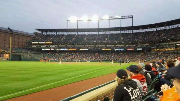 Oriole Park at Camden Yards, vak: 68, rij: 2, stoel: 7