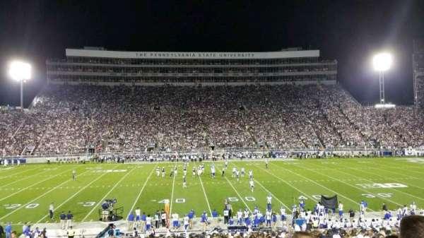 Beaver Stadium, vak: WF, rij: 21, stoel: 31