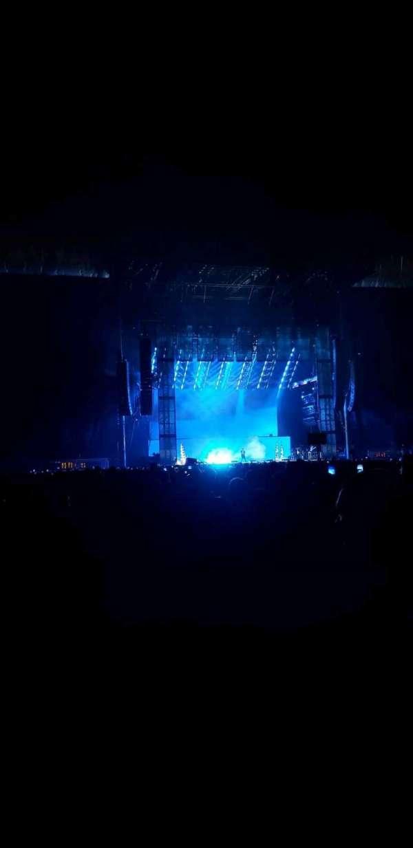Hershey Park Stadium, vak: G, rij: 12, stoel: 13