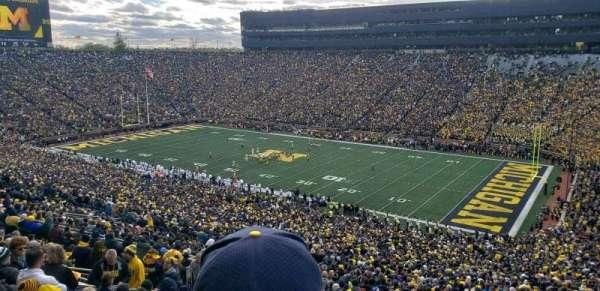 Michigan Stadium, vak: 40, rij: 89, stoel: 2