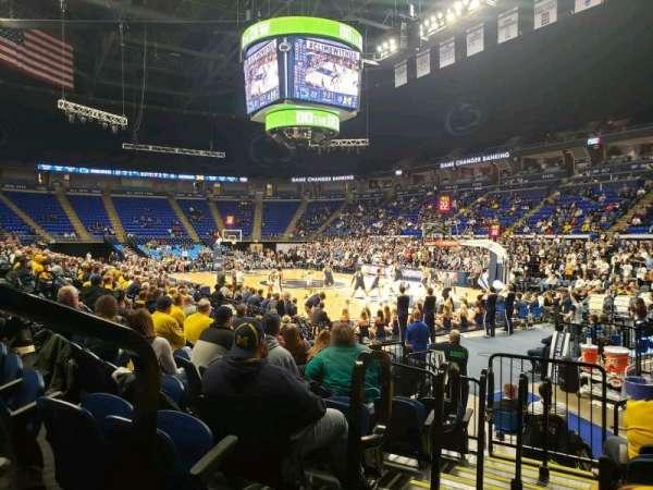 Bryce Jordan Center, vak: 101, rij: AA, stoel: 109