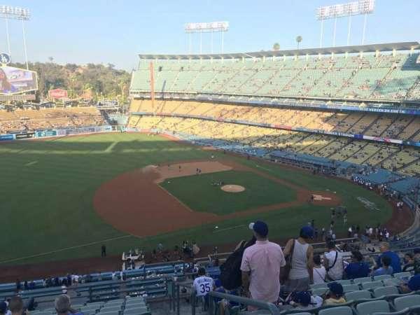 Dodger Stadium, vak: 27RS, rij: L, stoel: 1