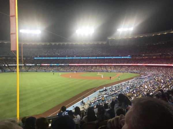 Dodger Stadium, vak: 163LG, rij: H, stoel: 2