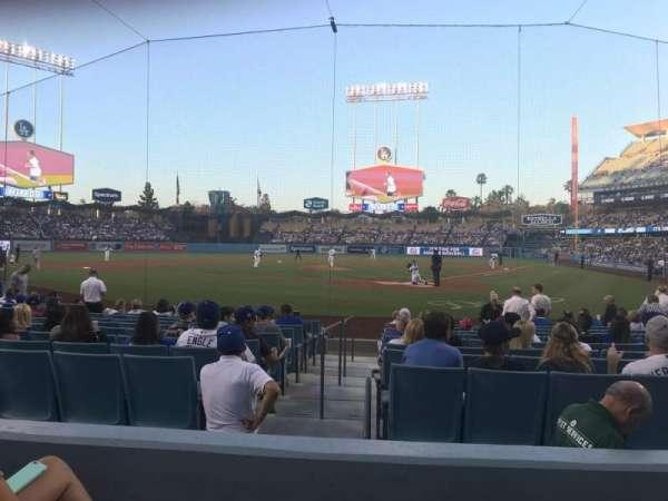 Dodger Stadium, vak: 5FD, rij: C, stoel: 3
