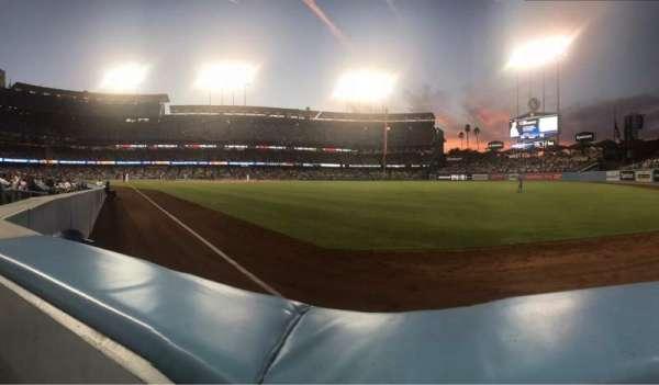Dodger Stadium, vak: 48FD, rij: AA, stoel: 4
