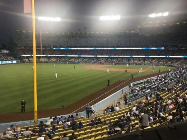 Dodger Stadium, vak: 163LG, rij: A, stoel: 1