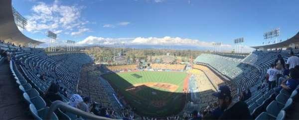 Dodger Stadium, vak: 3TD, rij: N, stoel: 20