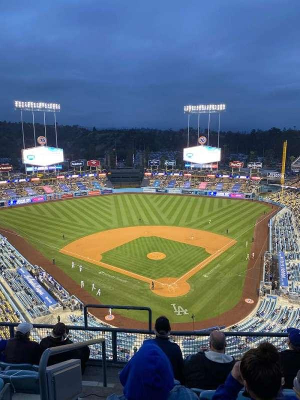 Dodger Stadium, vak: 3TD, rij: F, stoel: 18