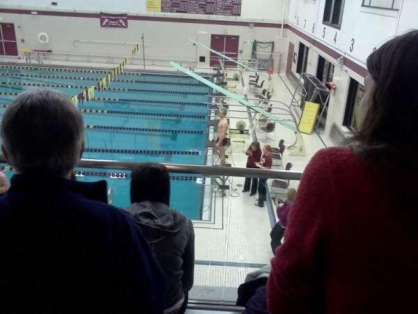 Lockport High School Swimming Place, vak: 3, rij: 3, stoel: 5