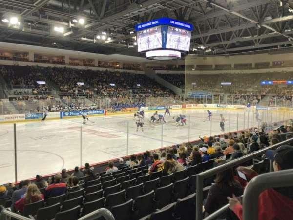 Erie Insurance Arena, vak: 201, rij: L, stoel: 1