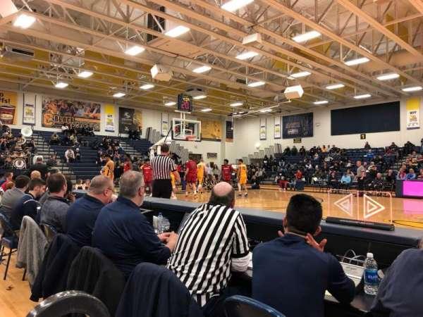 Koessler Athletic Center, vak: 7, rij: 1, stoel: 1