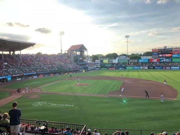 McCoy Stadium, vak: 1, rij: EE, stoel: 17