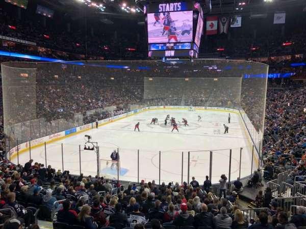 Nationwide Arena, vak: 119, rij: AAW, stoel: 9