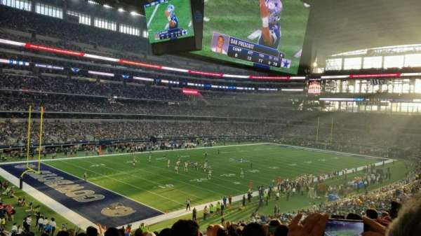 AT&T Stadium, vak: 242, rij: 11, stoel: 14