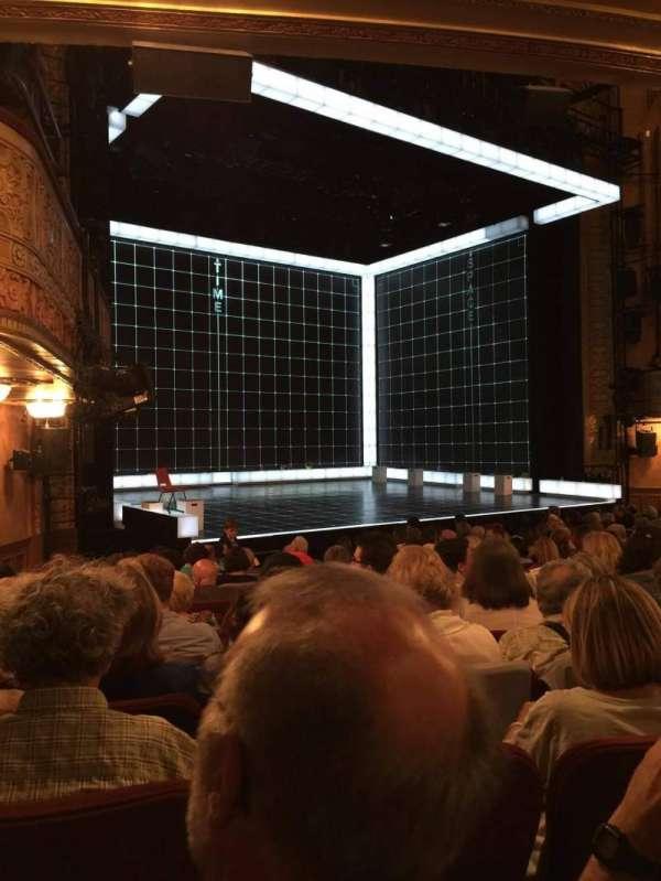 Ethel Barrymore Theatre, vak: Orchestra, rij: M, stoel: 12