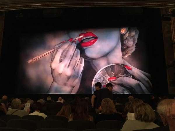 Nederlander Theatre, vak: Orchestra, rij: M, stoel: 103