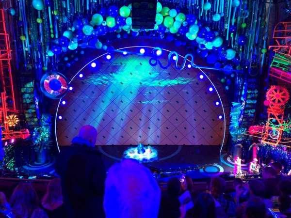 Palace Theatre (Broadway), vak: Mezz, rij: E, stoel: 104