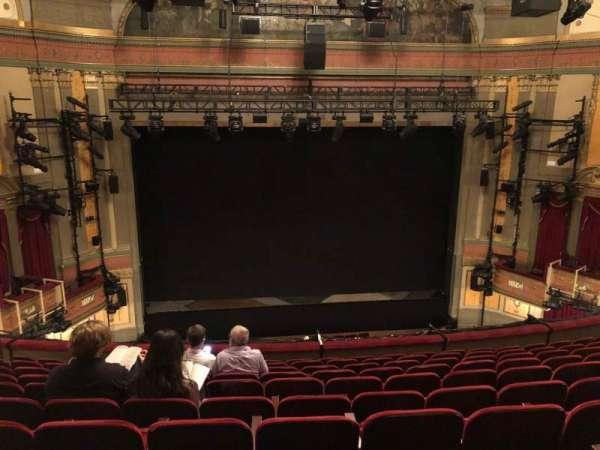Neil Simon Theatre, vak: FMEZZ, rij: K, stoel: 107
