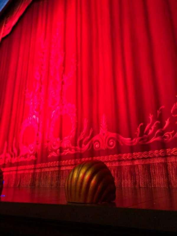 Hudson Theatre, vak: Orchestra, rij: A, stoel: 114