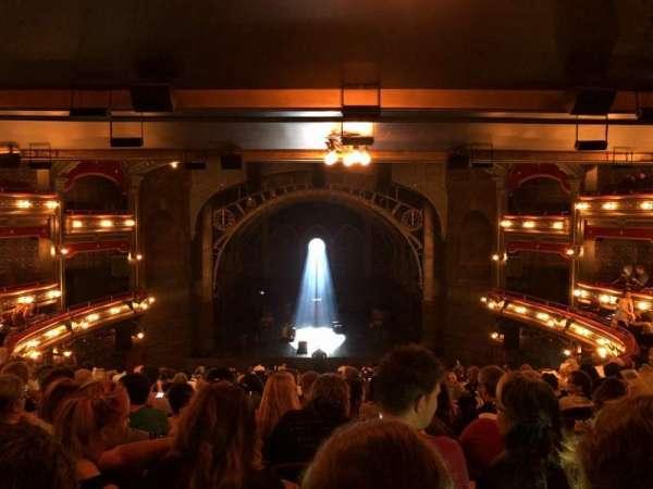 Lyric Theatre, vak: Dress Circle C, rij: L, stoel: 114