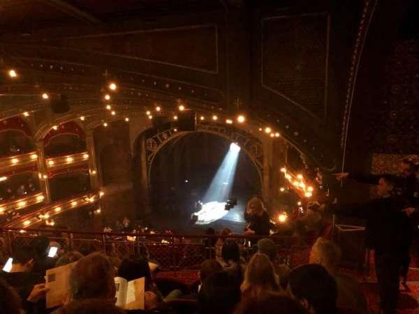 Lyric Theatre, vak: Balcony R, rij: G, stoel: 24