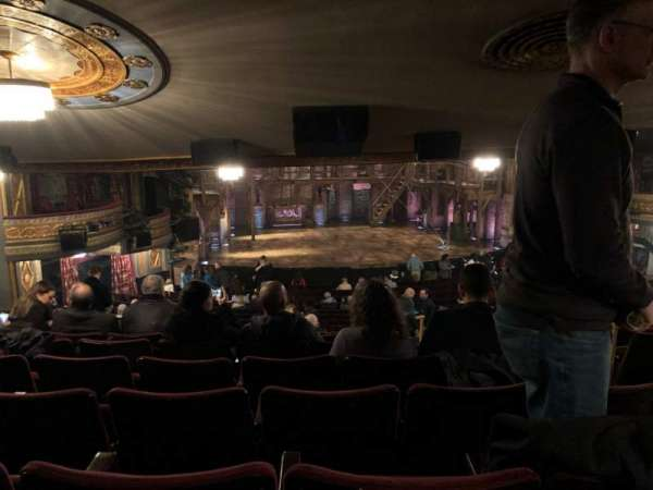 Richard Rodgers Theatre, vak: Standing Room, stoel: 5