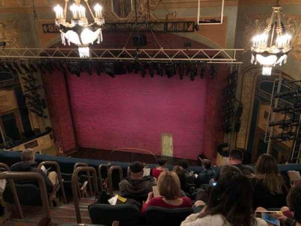 Shubert Theatre, vak: Balcony, rij: G, stoel: 6