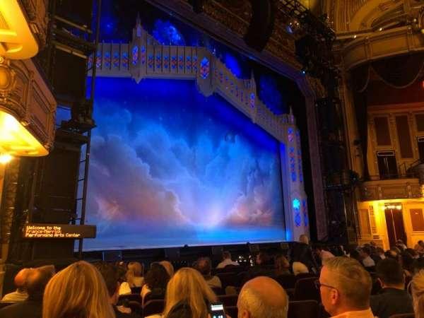 Hippodrome Theatre, vak: LORCH, rij: L, stoel: 15