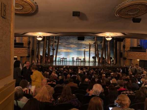 Gerald Schoenfeld Theatre, vak: SRO, stoel: 102