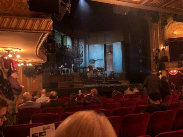 Walter Kerr Theatre, vak: Orchestra, rij: N, stoel: 21