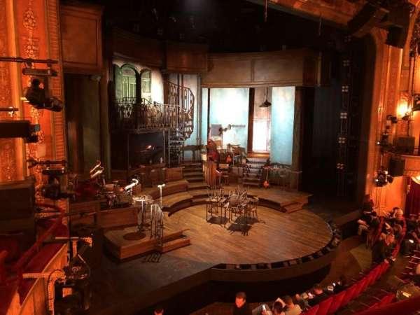 Walter Kerr Theatre, vak: Mezz, rij: B, stoel: 19