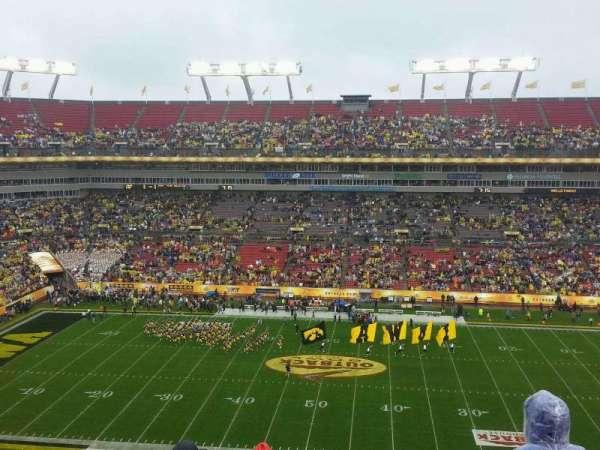 Raymond James Stadium, vak: 336, rij: E, stoel: 13