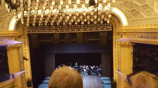 Hudson Theatre, vak: Center Balcony, rij: B, stoel: 113