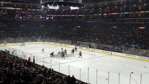 Staples Center, vak: PR10, rij: 6, stoel: 7
