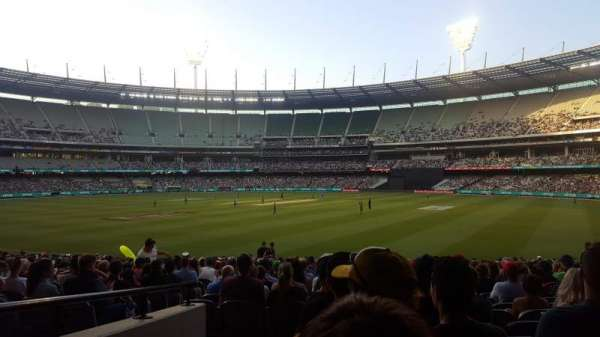 Melbourne Cricket Ground, vak: 13, rij: U, stoel: GA