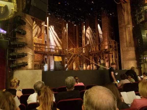 CIBC Theatre, vak: L Orchestra, rij: G, stoel: 15