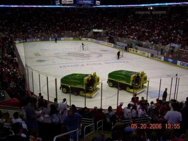 PNC Arena, vak: 113, rij: V