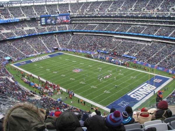 MetLife Stadium, vak: 332, rij: 15, stoel: 10