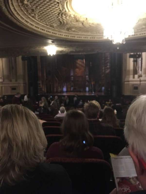 Boston Opera House, vak: ORCHRC, rij: W, stoel: 22