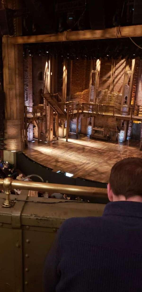 CIBC Theatre, vak: Mezzanine R, rij: B, stoel: 4